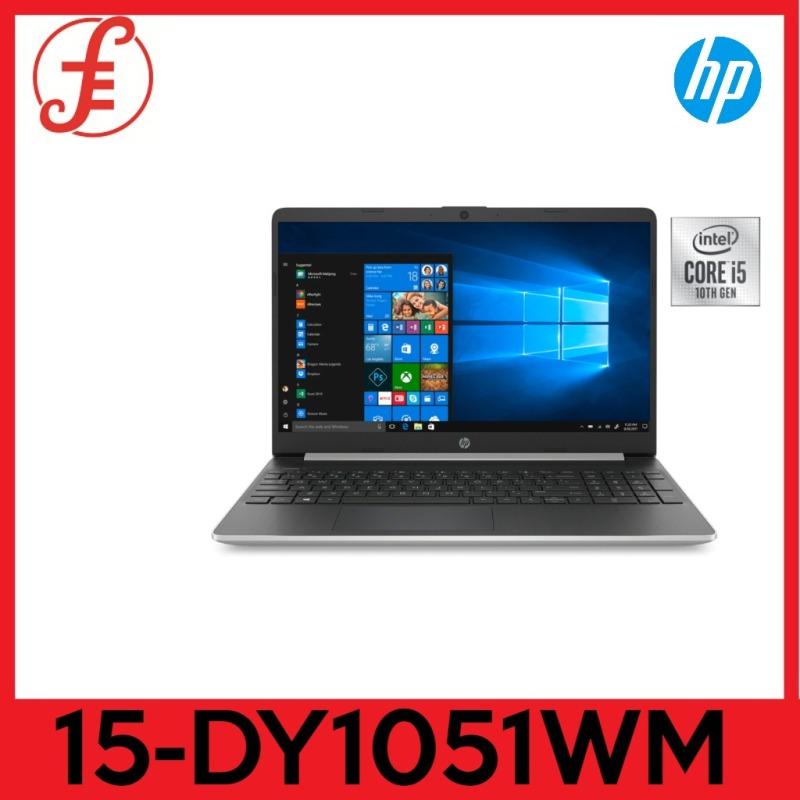HP 15-DY1051WM 10th generation 15-DY1051WM Notebook 15.6 inch display i5-1035G1 1GHz 8GB RAM 256GB SSD Win 10 Home Natural Silver In-build Webcam ORIGINAL PACKAGING 1 year warranty (15-DY1051WM)