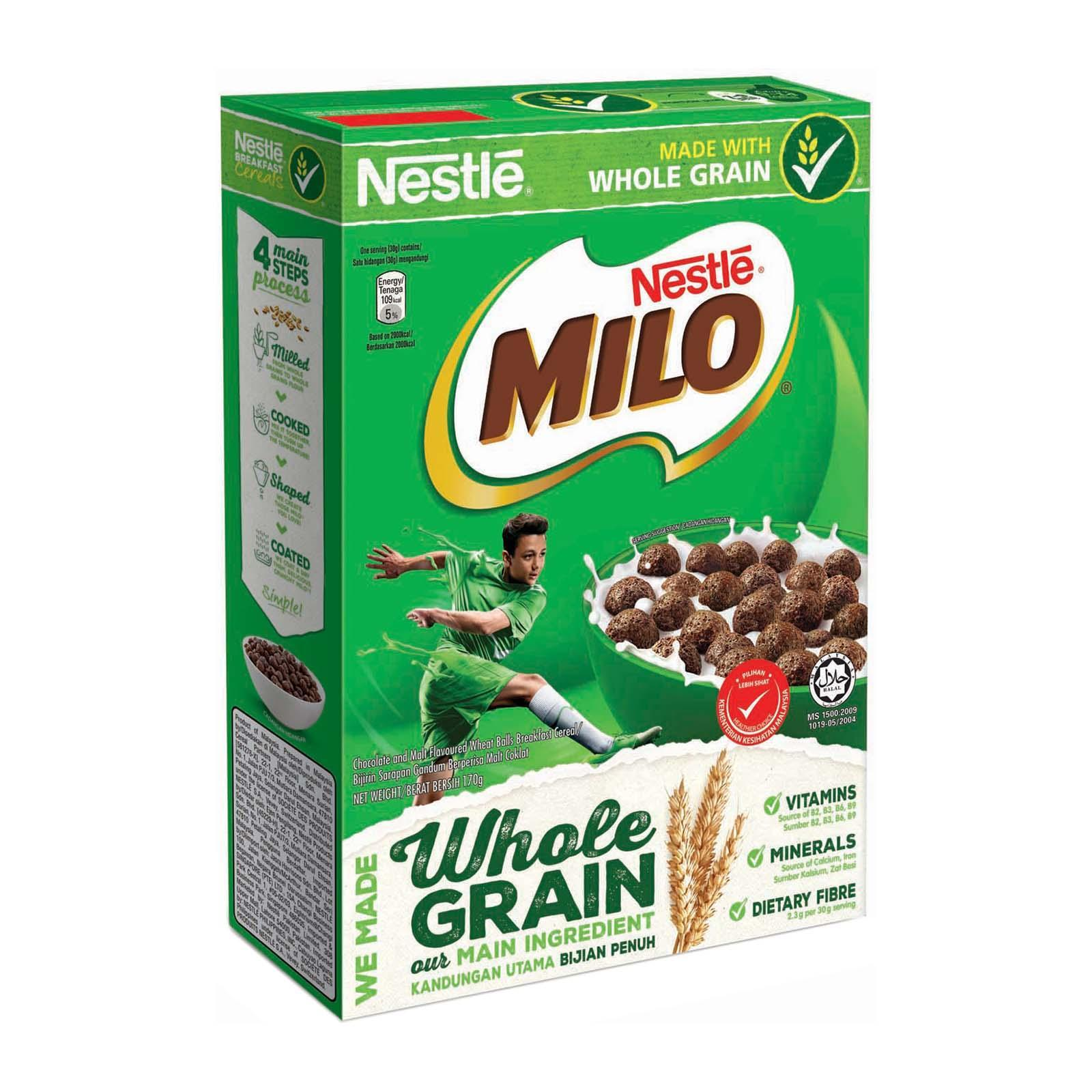 NESTLE MILO Cereal With Whole Grain