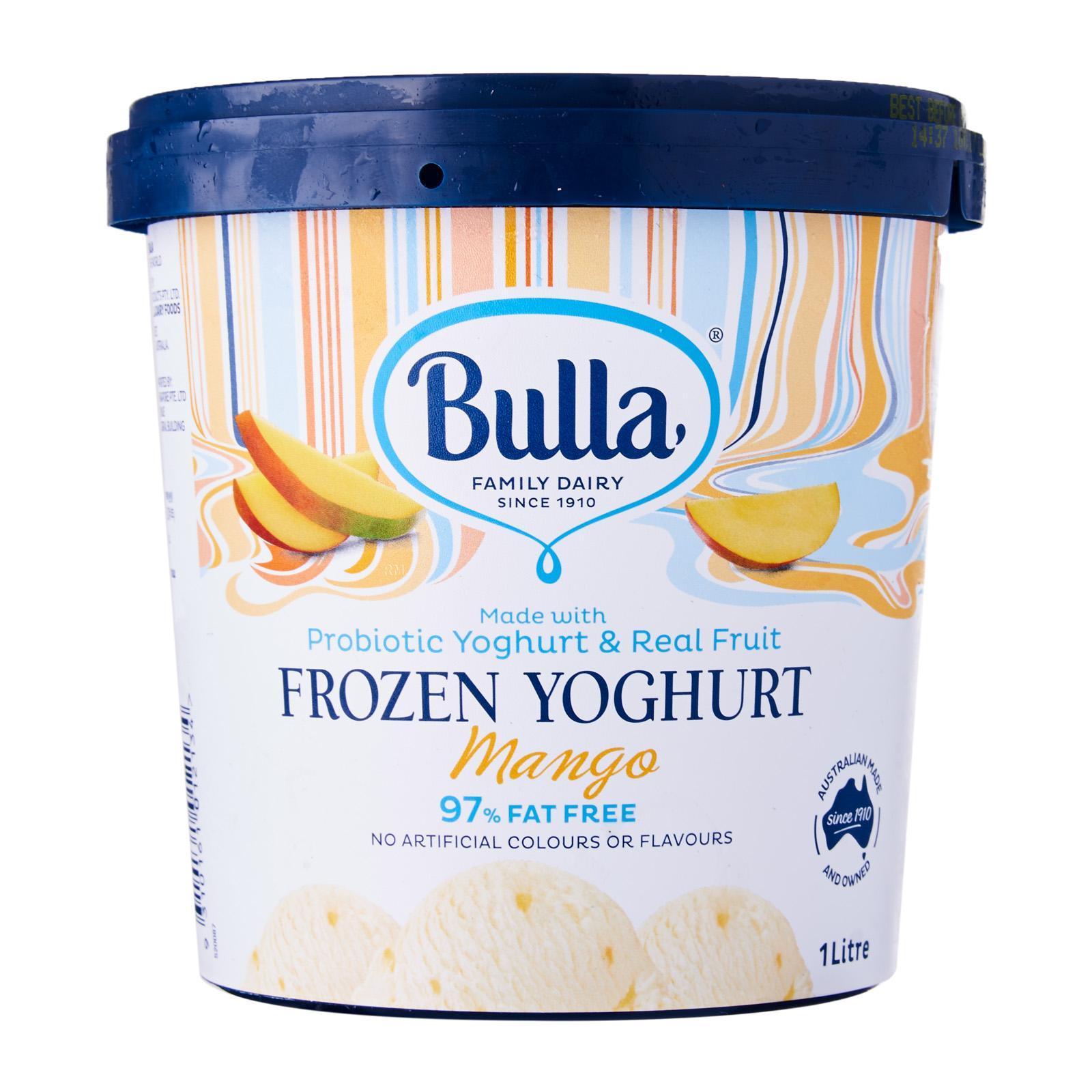 Bulla Mango Yoghurt - Frozen By Redmart