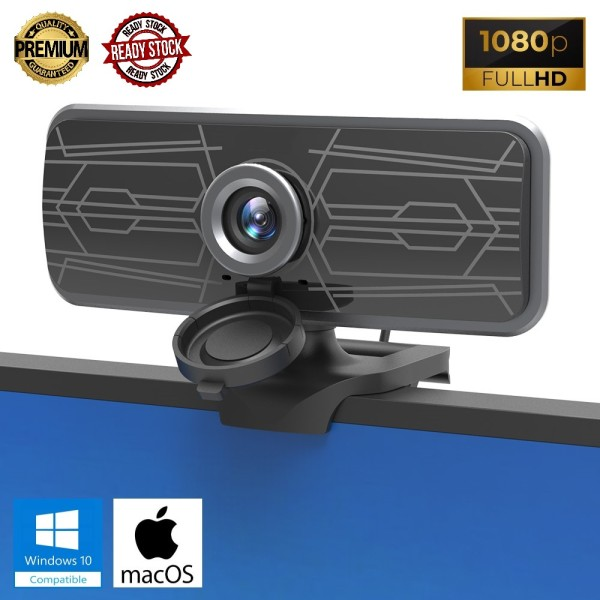 1080P FULL HD HIGH PRECISION Webcam with Microphone