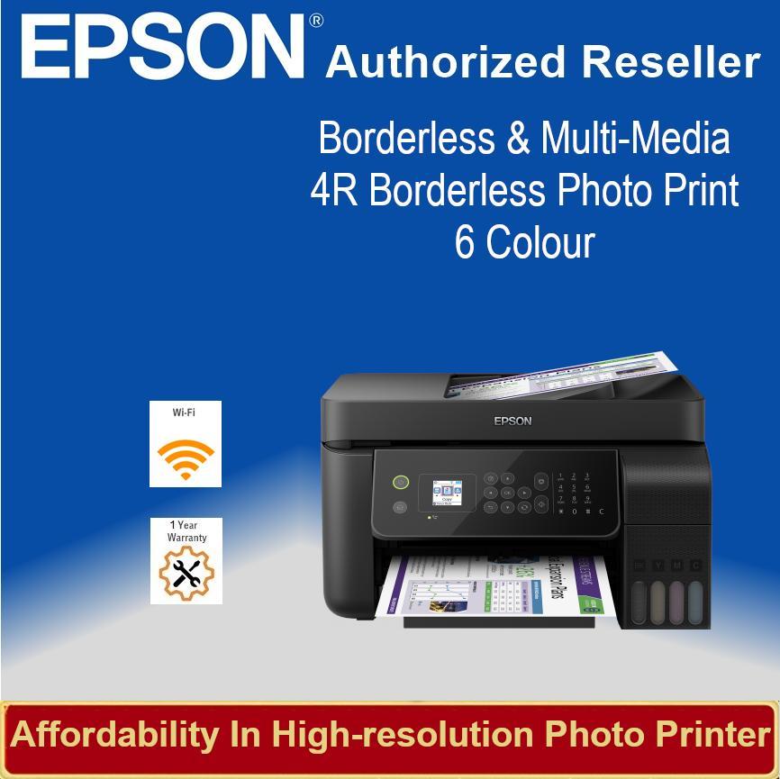 Epson EcoTank L565 A4 Multi-Function Colour Ink Tank printer