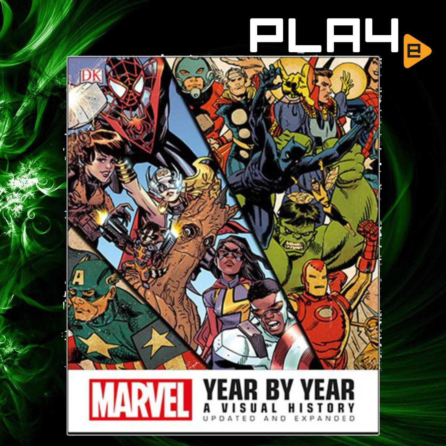 Marvel Year by Year A Visual History Updated book