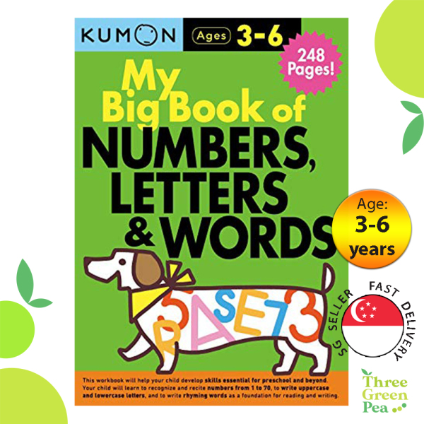 Kumon - My Big Book of Numbers, Letters, and Words