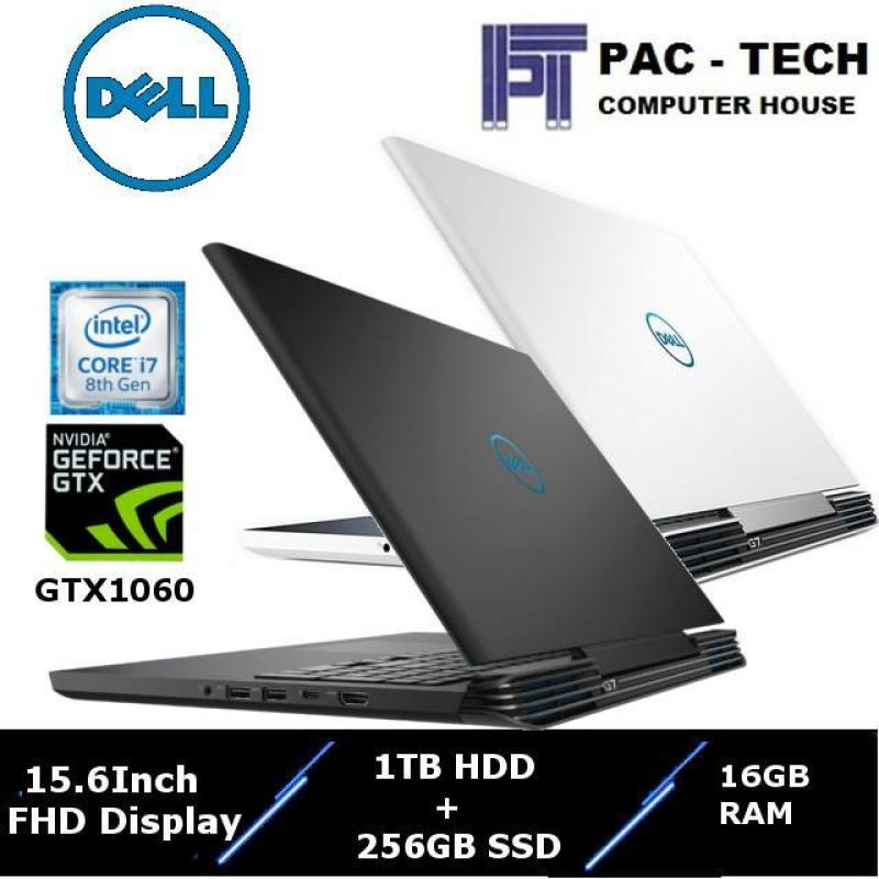!!! High End Gaming Laptop !!! Dell G7 / 15.6 FHD IPS Anti Glare / i7-8750H ( Six Core ) / 16GB RAM / 1TB HDD + 256GB SSD /GTX1060(6GB Graphics) / 1 Year Dell Premium Support