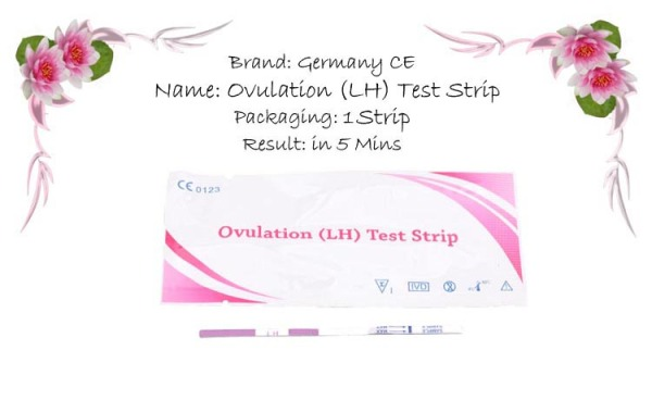 Buy 50 Piece HCG Ovulation Test Strip with urine cup Singapore