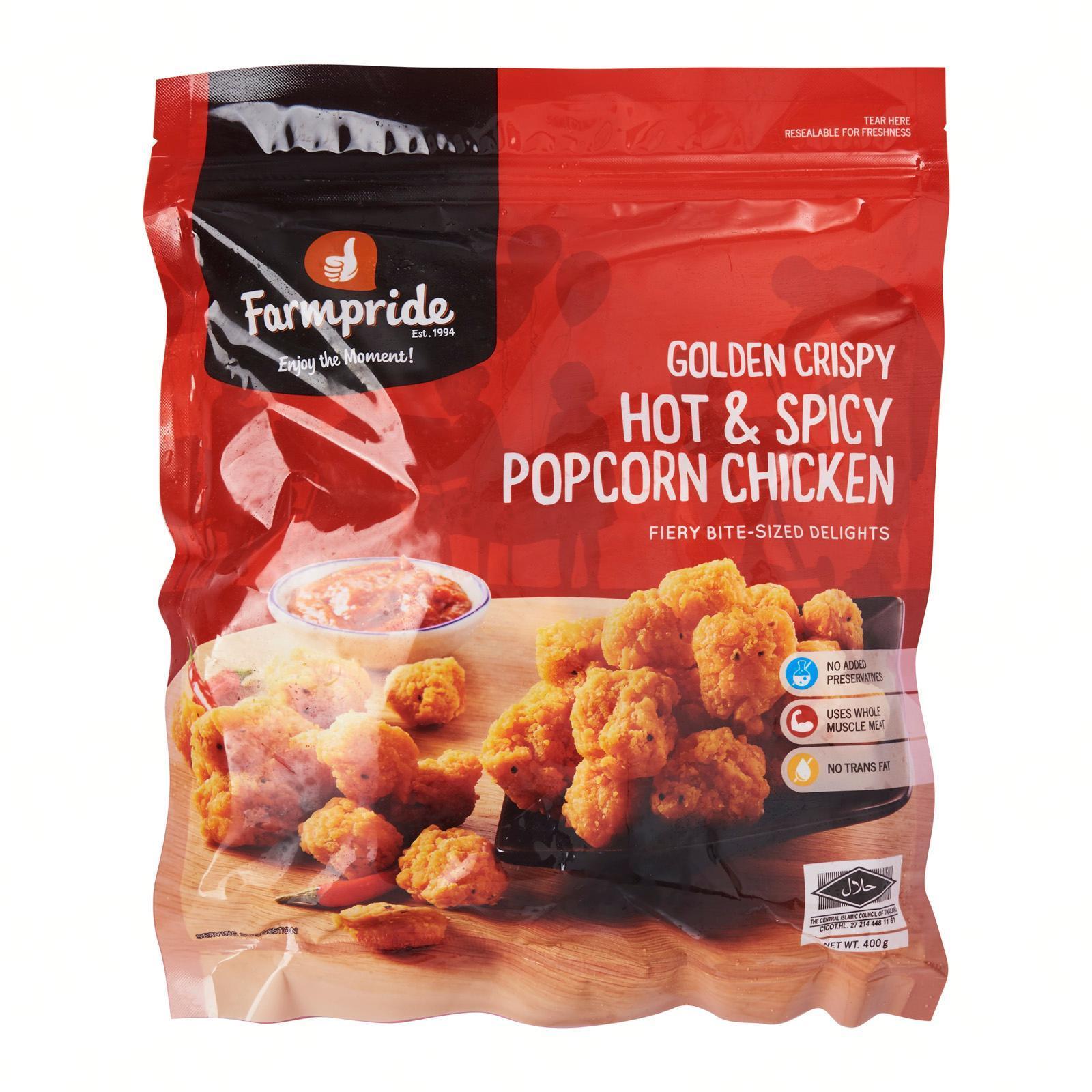 Farmpride Hot and Spicy Popcorn - Frozen