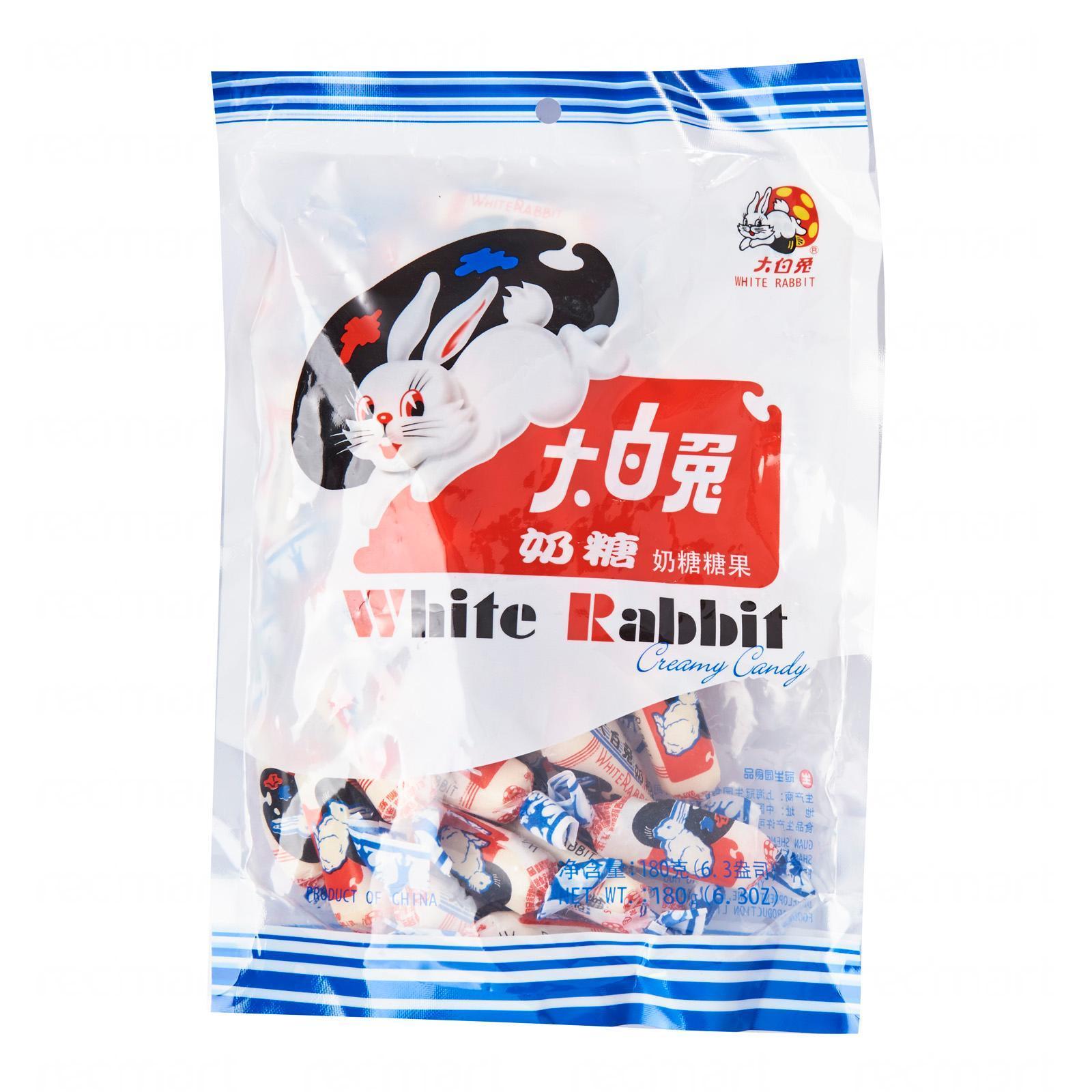 White Rabbit Creamy Candy By Redmart.