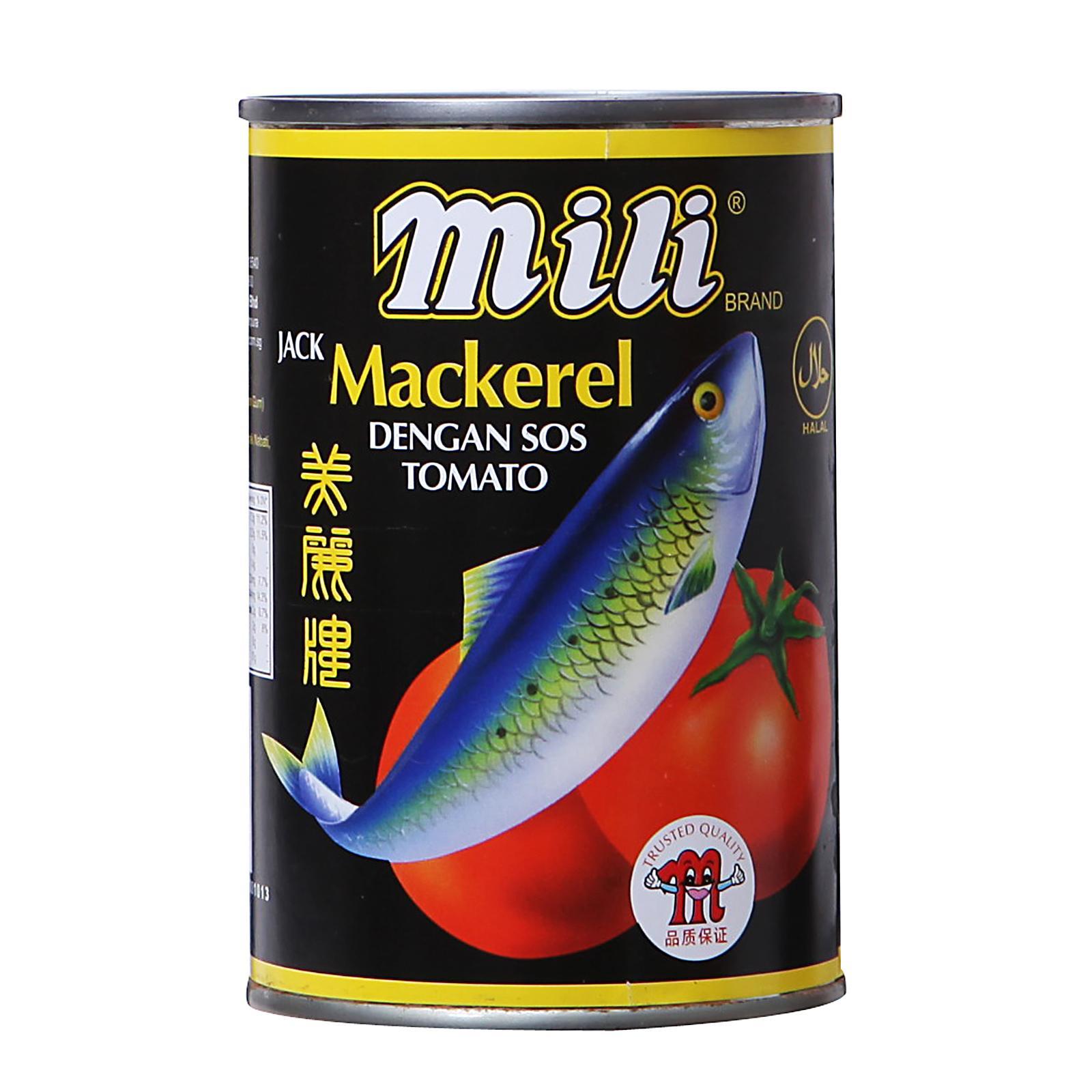 MILI Mackerel In Tomato Sauce 425g