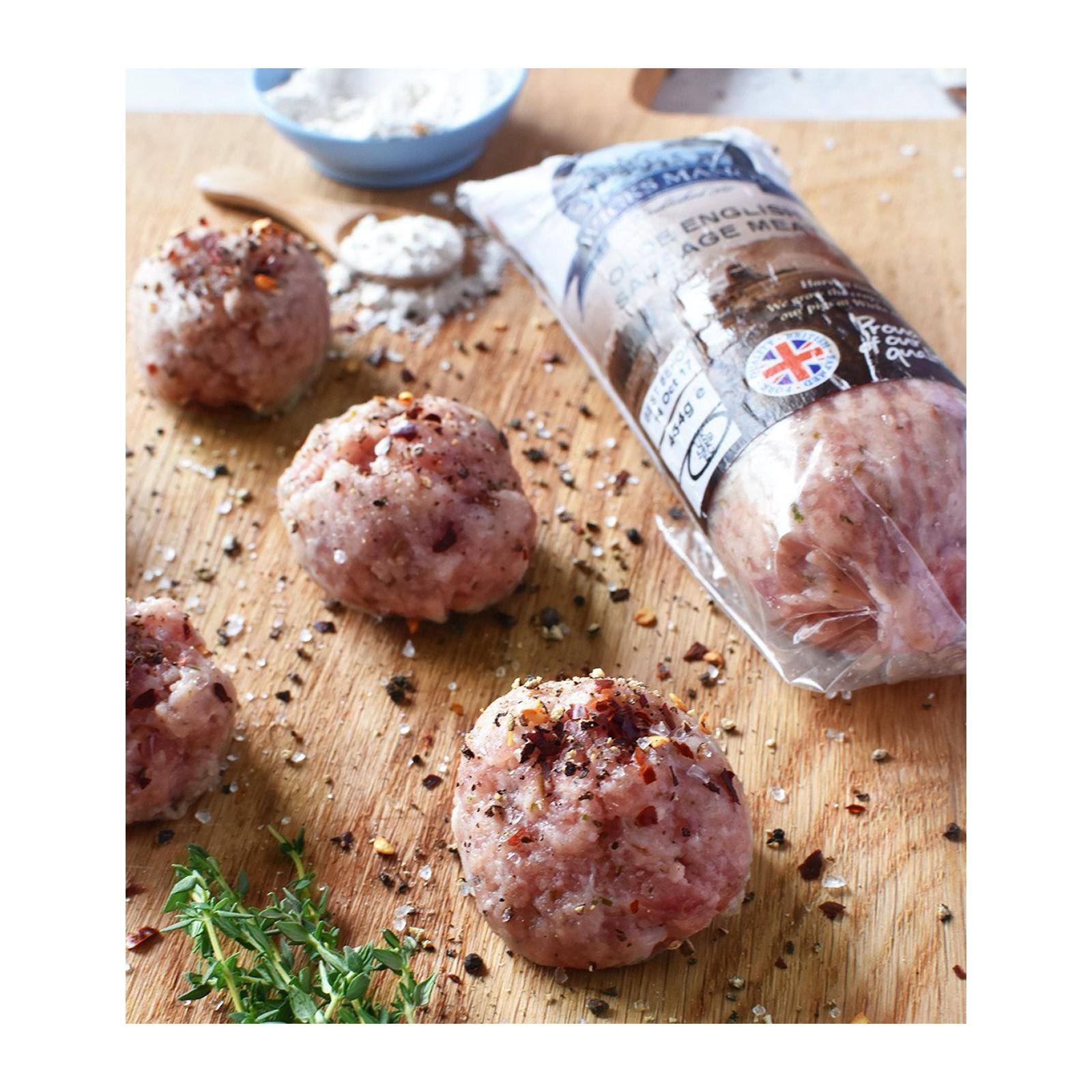 Sasha's Fine Foods Olde English Sausages Meat - Frozen