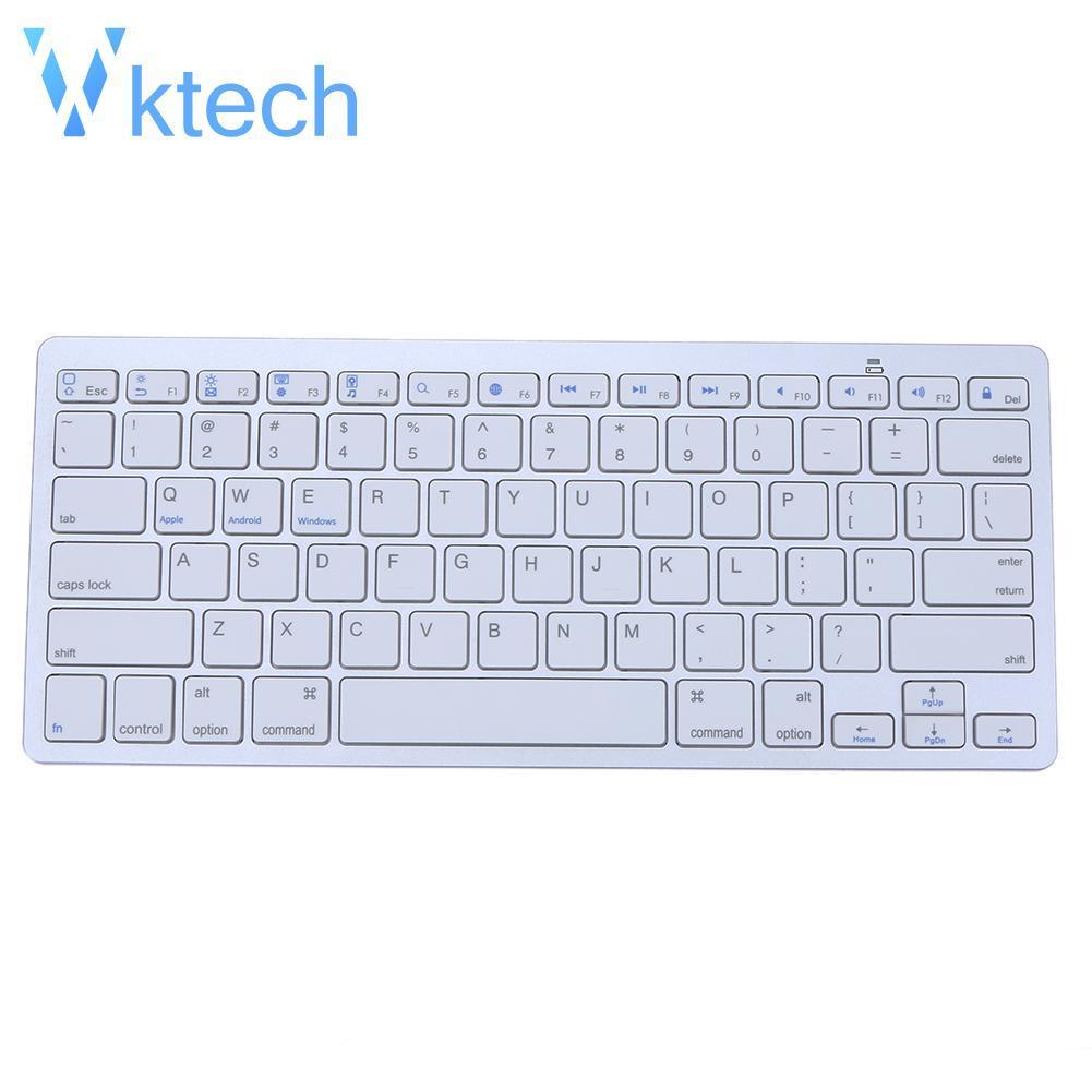 [Vktech] Bluetooth 3 Wireless Keyboard for Apple iPad-1 1 2 3 4 Mac  Computer PC Mac