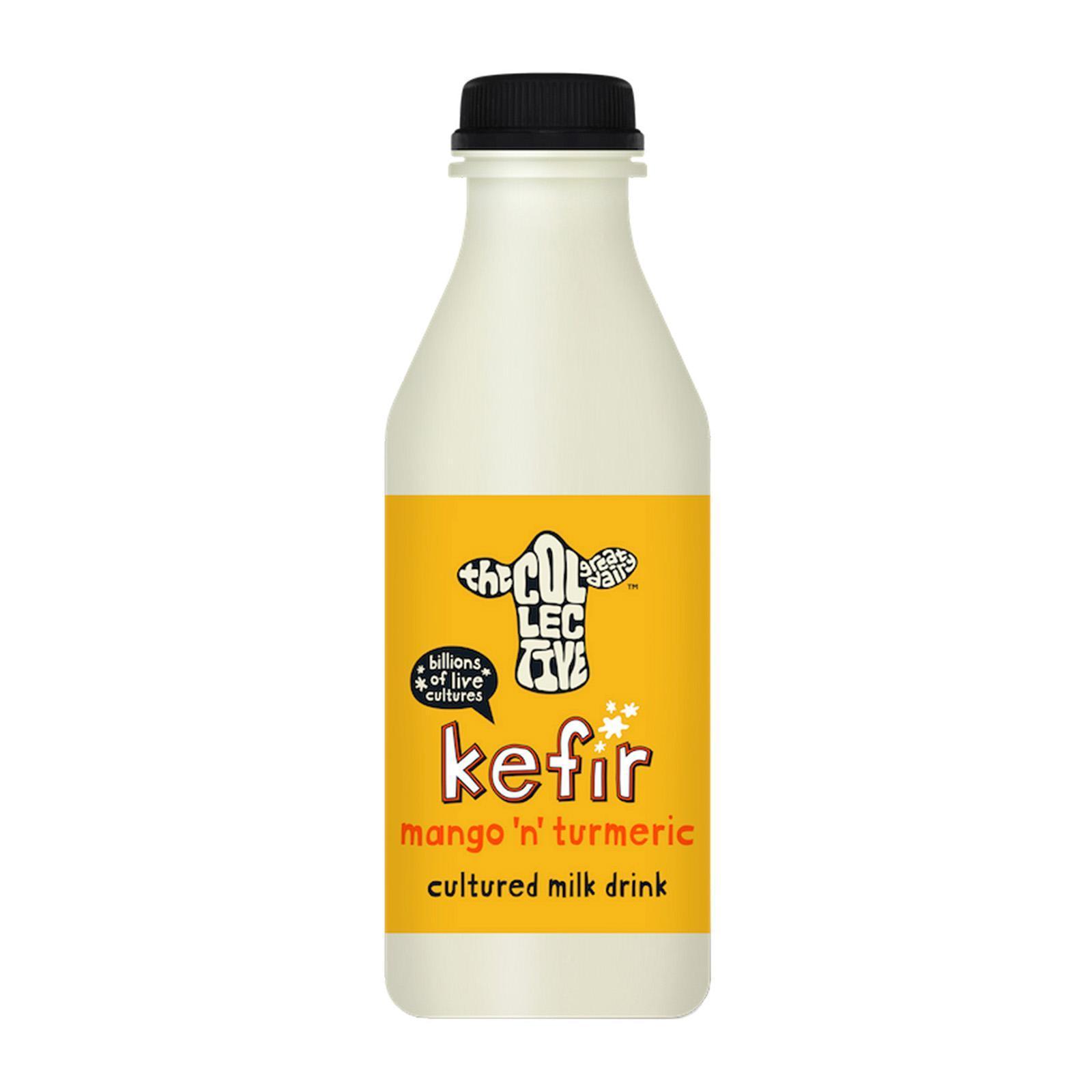 The Collective Kefir Mango and Turmeric Milk Drink 500ml