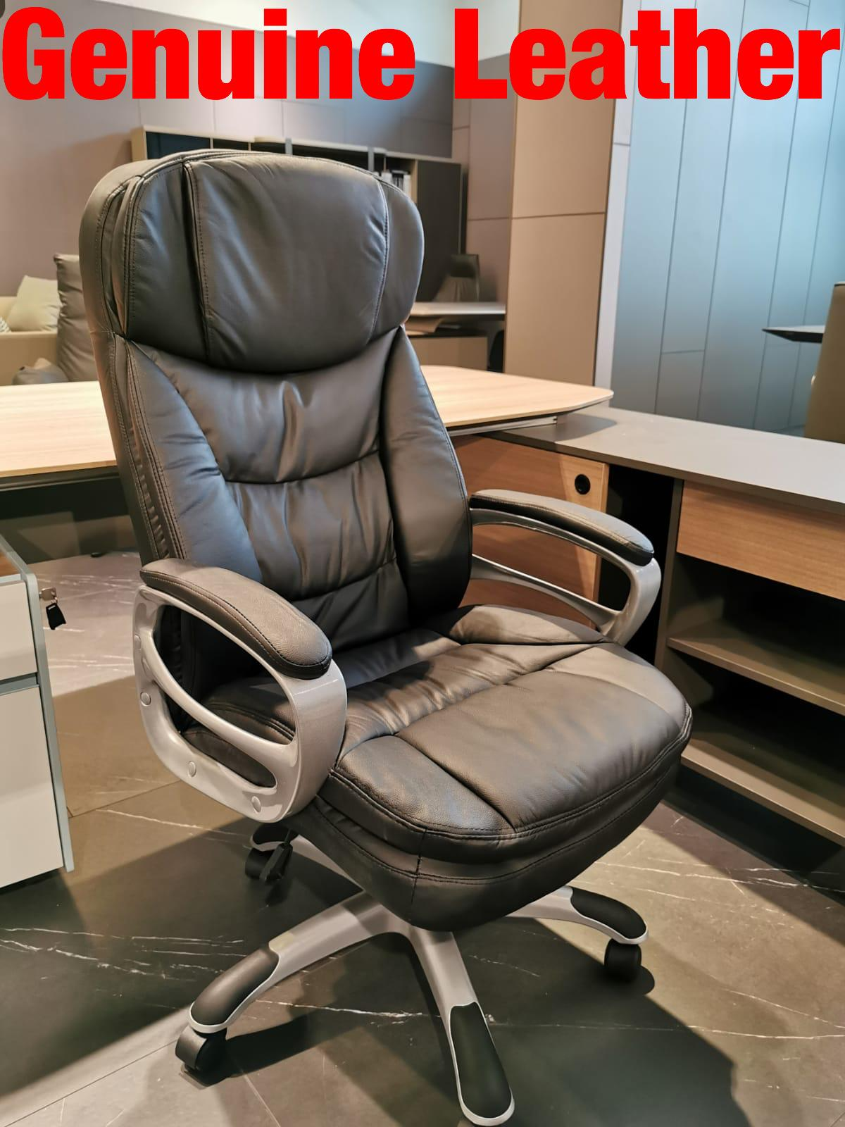 UMD Genuine Leather Boss Chair 7558/338/501/504 (1 Year Warranty & Free Installation) Singapore