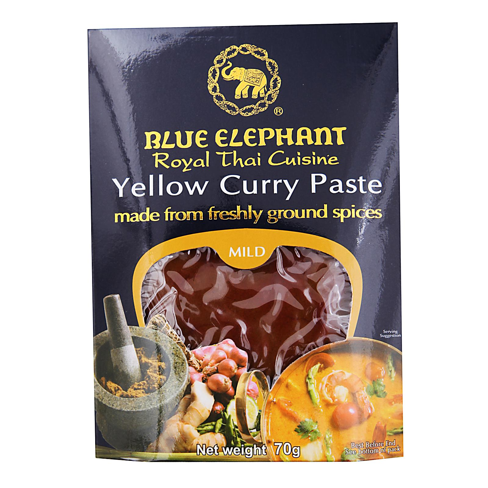 Blue Elephant Yellow Curry Paste By Redmart.