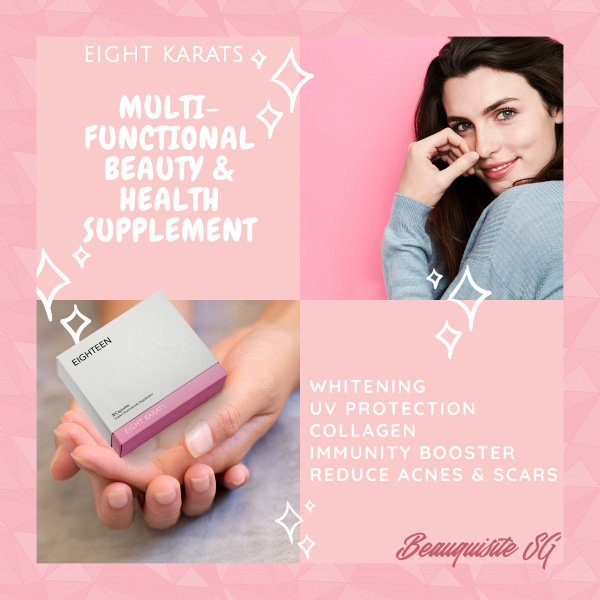 Buy Eight Karats Eighteen Vitaskin Nutricosmetic Supplement (1 Box) Singapore