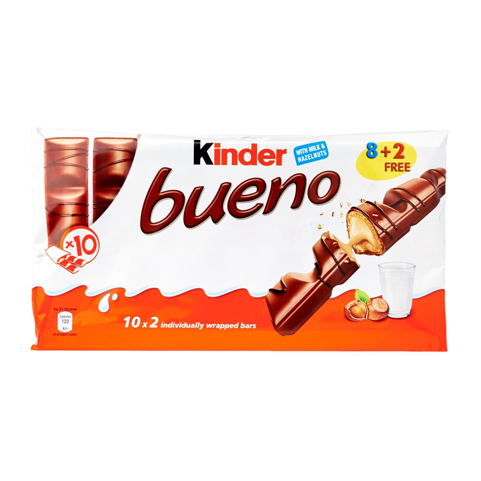 KINDER Bueno Chocolates T10 430g