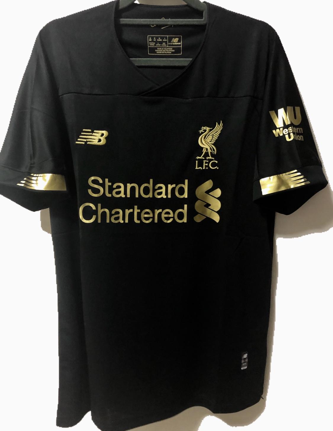 19/20 Liverpool Goalkeeper Football Jersey By My_kit1.