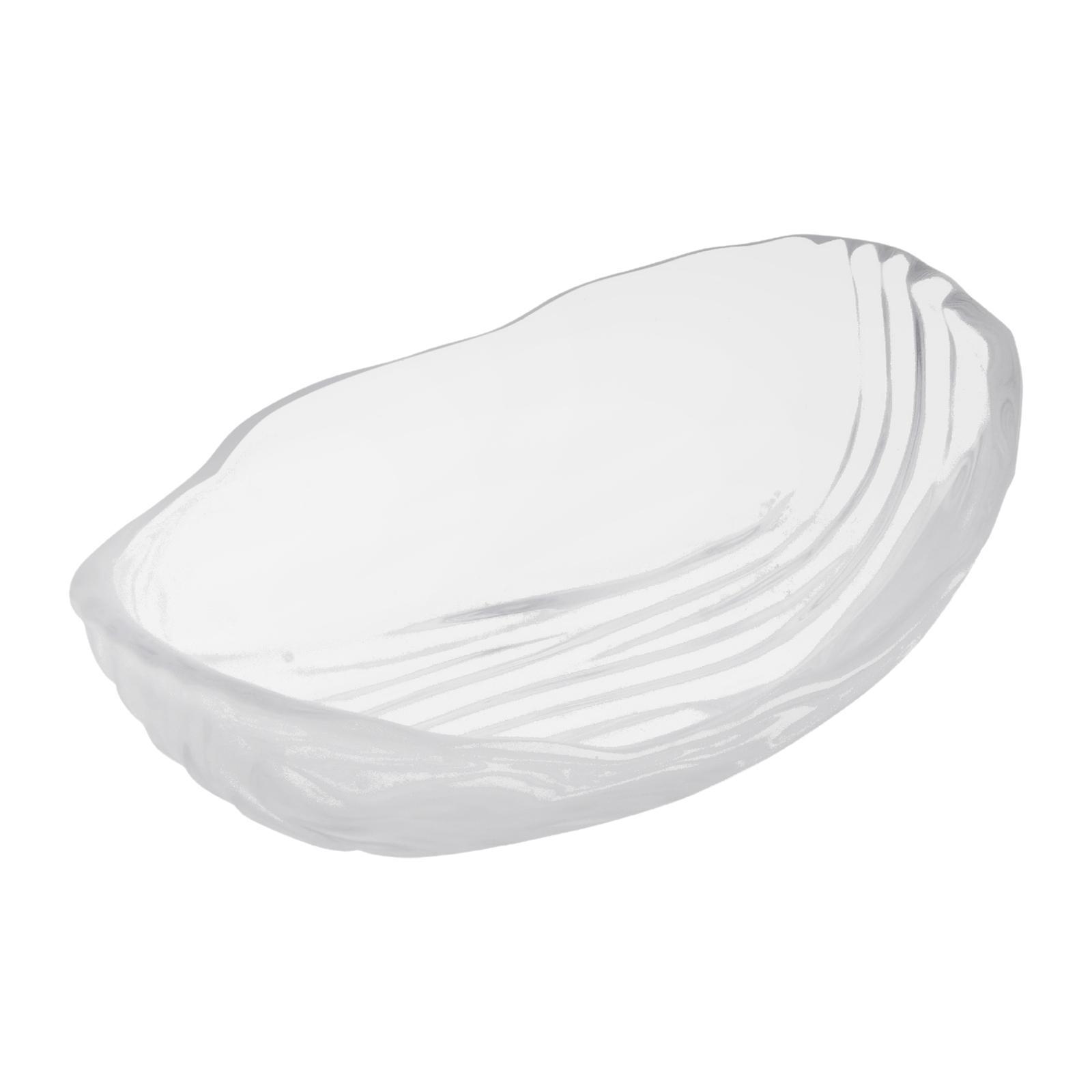 Soga KMGW Deep Oval Glass Dish 15 CM 3-PCS Set