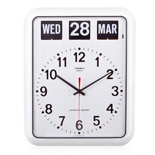 Large Perpetual Calendar Clock (BQ-12A) Twemco