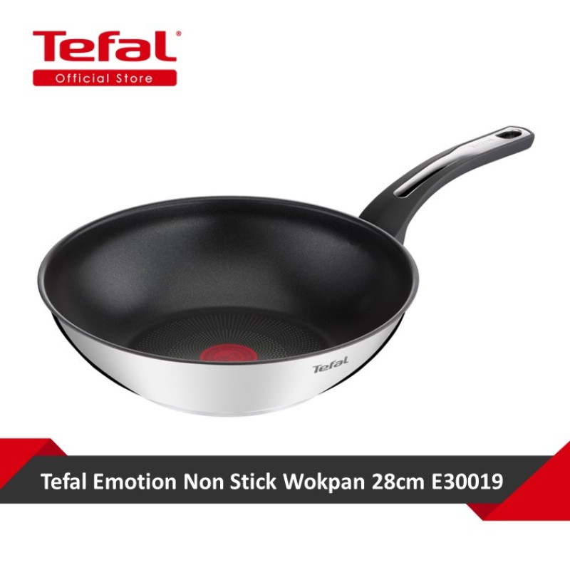 Tefal Emotion Non Stick Wokpan 28cm E30019 Singapore