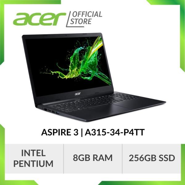Acer Aspire 3 A315-34-P4TT Laptop - 15.6 FHD / 8GB RAM / 256GB SSD