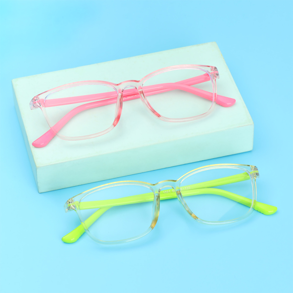 Giá bán zbrtdr Anti-blue ánh sáng trẻ em kính trẻ em bé gái cô gái máy tính bảo vệ mắt kính siêu nhẹ khung