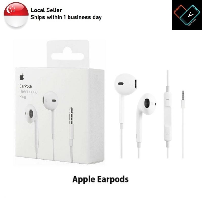 [Local Seller] Original Apple 3.5mm EarPods Earpiece Earphones for iPhone iPad iOS Devices Retail Packaging Singapore