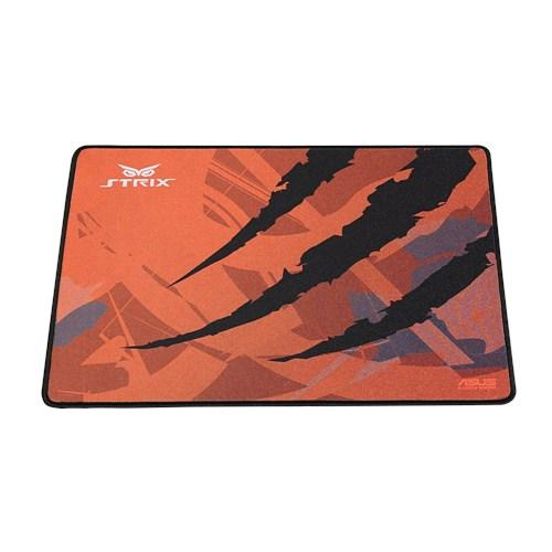 ASUS ROG Strix Glide Speed gaming mouse pad designed with luxurious fine-weave fabric for smooth motion and precise control