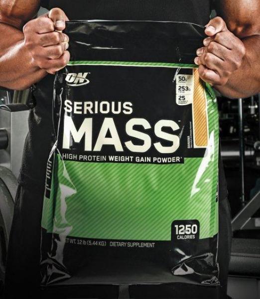 Buy Optimum Nutrition Serious Mass Gainer (12 LB) - Pick Your Flavour Singapore