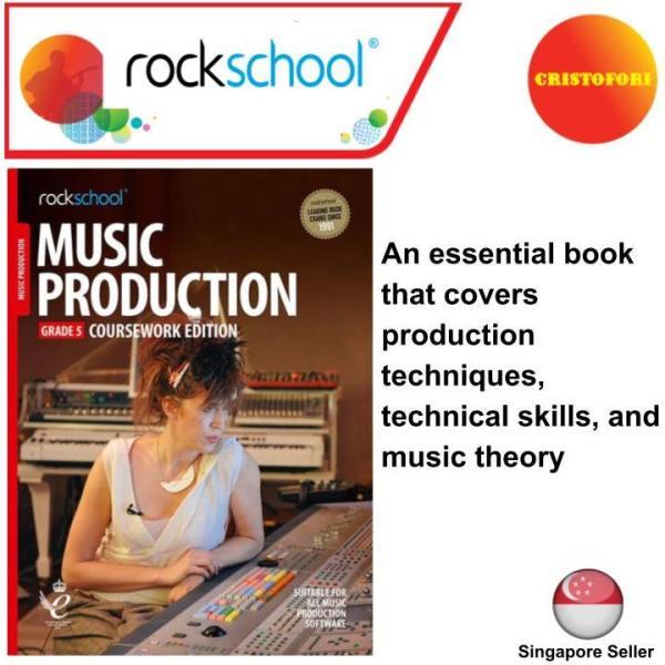 Rockschool Music Production - GRADE 5 Coursework Edition (2019+ New Syllabus Book)