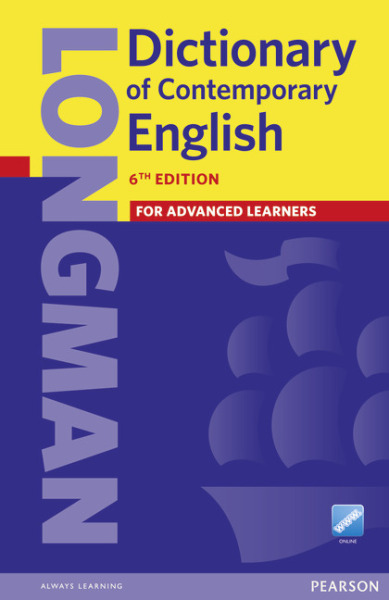Pearson Longman Dictionary of Contemporary English 6 (Paperback and online)