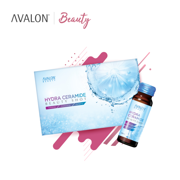 Buy [BUY 1 FREE 1] AVALON Hydraceramide Beauty Shot 50ml x 10 bottles Singapore