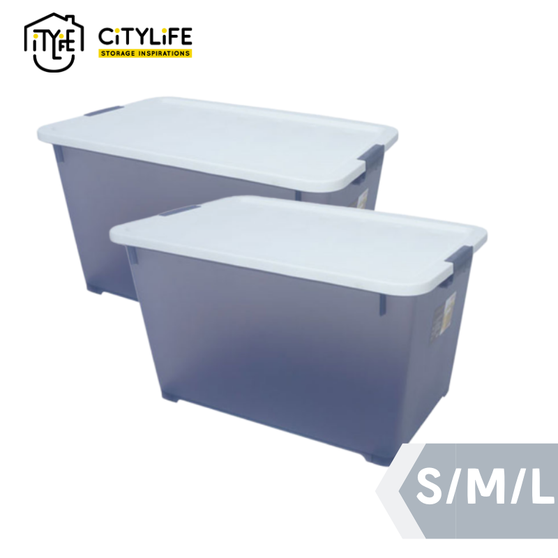 [Bundle of 2] - Citylife Storage Container S / M / L - Soft Closing
