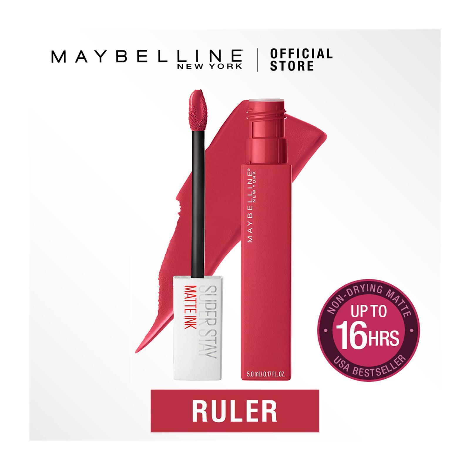 Maybelline Superstay Matte Ink Un-Nudes Ruler