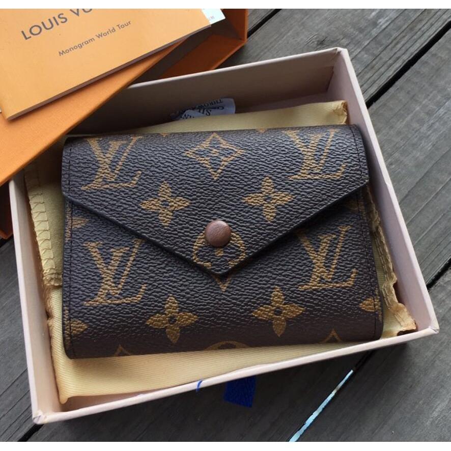 LV print womens classic Zipper Wallet