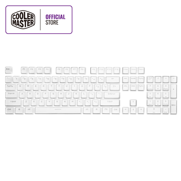 Cooler Master PBT Backlit Keycap Set (Full US Layout Set / 104 Keycaps) Singapore