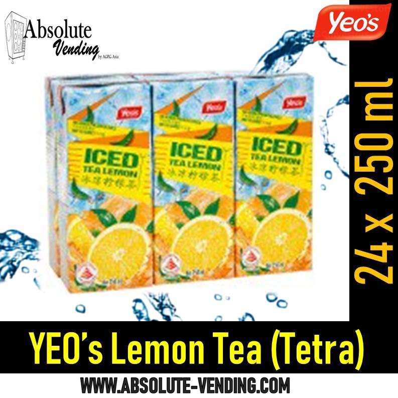 Yeos Lemon Tea (tetra) By Absolutevending-Drinkrus.