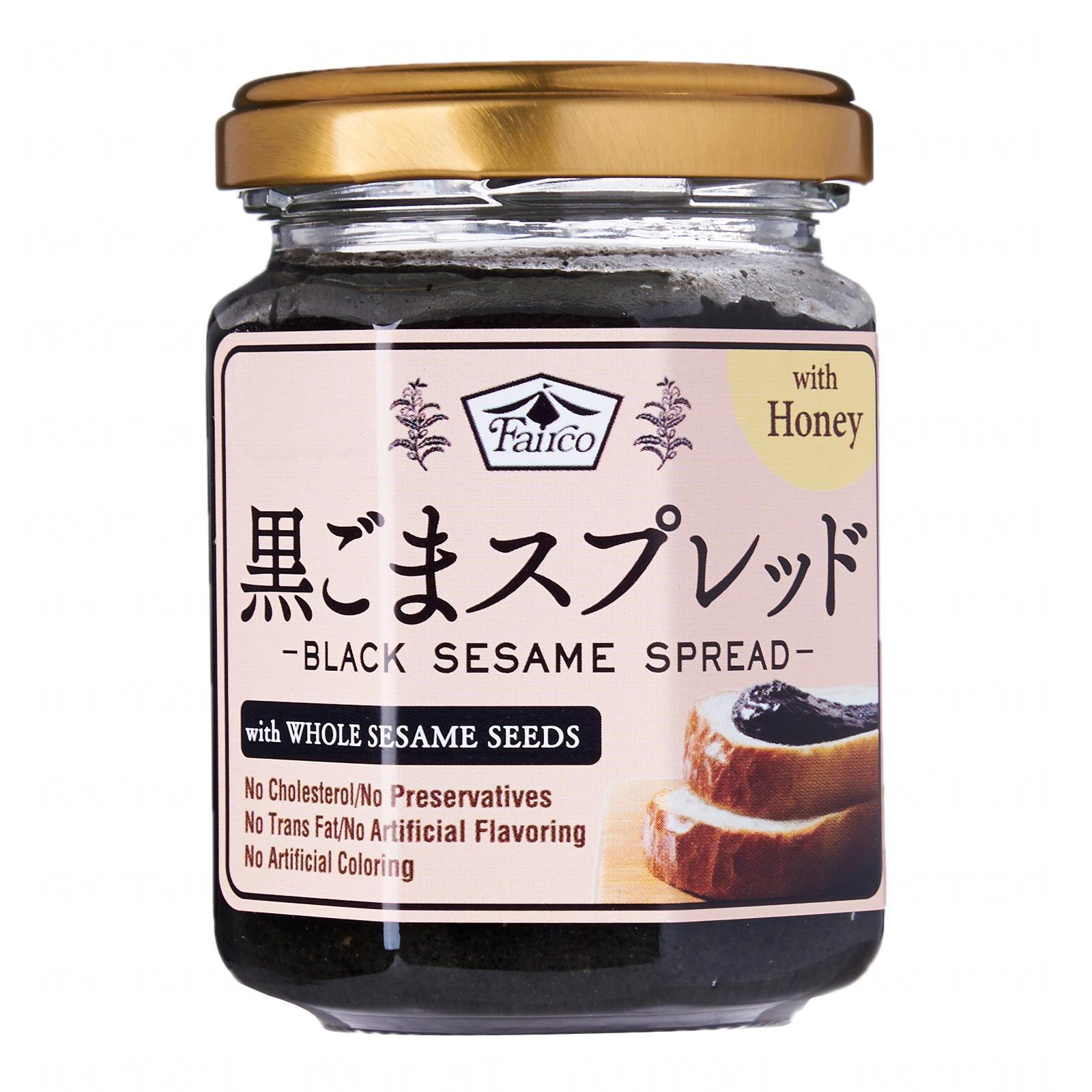 Fairco Premium Black Sesame Spread (W/Whole Sesame)