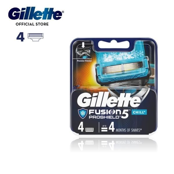 Buy Gillette Fusion Proshield Flexball Razor Blades 4 Cartridges Refills Chill Singapore