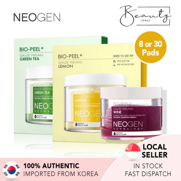 Buy [In Stock] NEOGEN Bio-Peel Gauze Peeling Pads - Wine (30 pads) / Lemon (8 pads) / Green Tea (8 pads) Singapore
