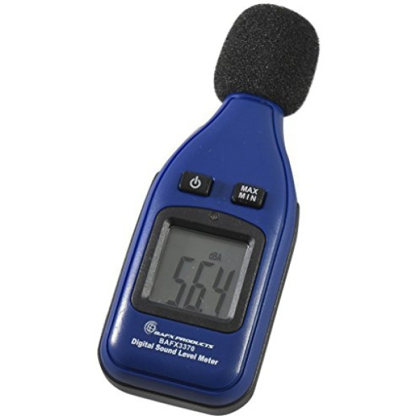 BAFX Products - Decibel Meter/Sound Pressure Level Reader (SPL) / 30-130dBA Range - 1 Year Warranty