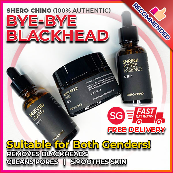 Buy [SG - FREE Delivery in 1-2 days] Shero Ching Byebye Blackhead - Effective Blackhead Remover , Clean Pores , Smooth Skin ( New & 100% Authentic . AUTHORISED DISTRIBUTOR Singapore