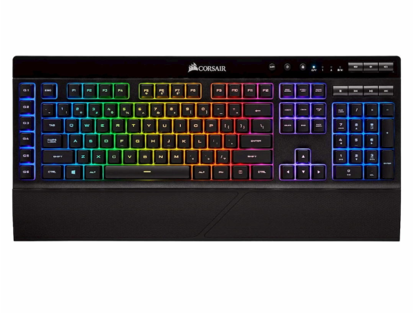 Corsair K57 RGB Keys Wireless Gaming Keyboard (EU) With USB Interface Black Singapore