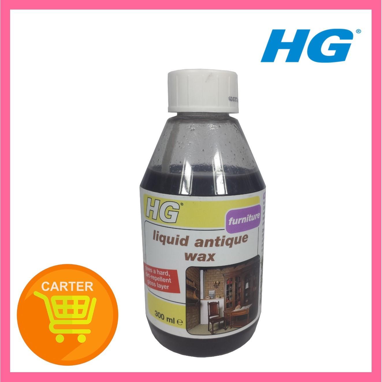 HG LIQUID ANTIQUE WAX BROWN 300ML-HG285