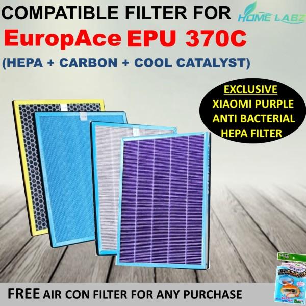 Europace EPU 370C Air Purifier Compatible Filter (Xiaomi Purple Antibacterial HEPA) Singapore