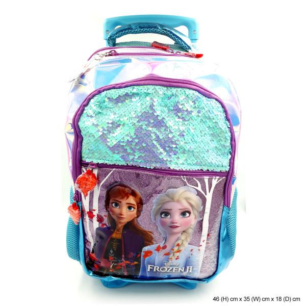Frozen 2 Sequin Trolley Bag