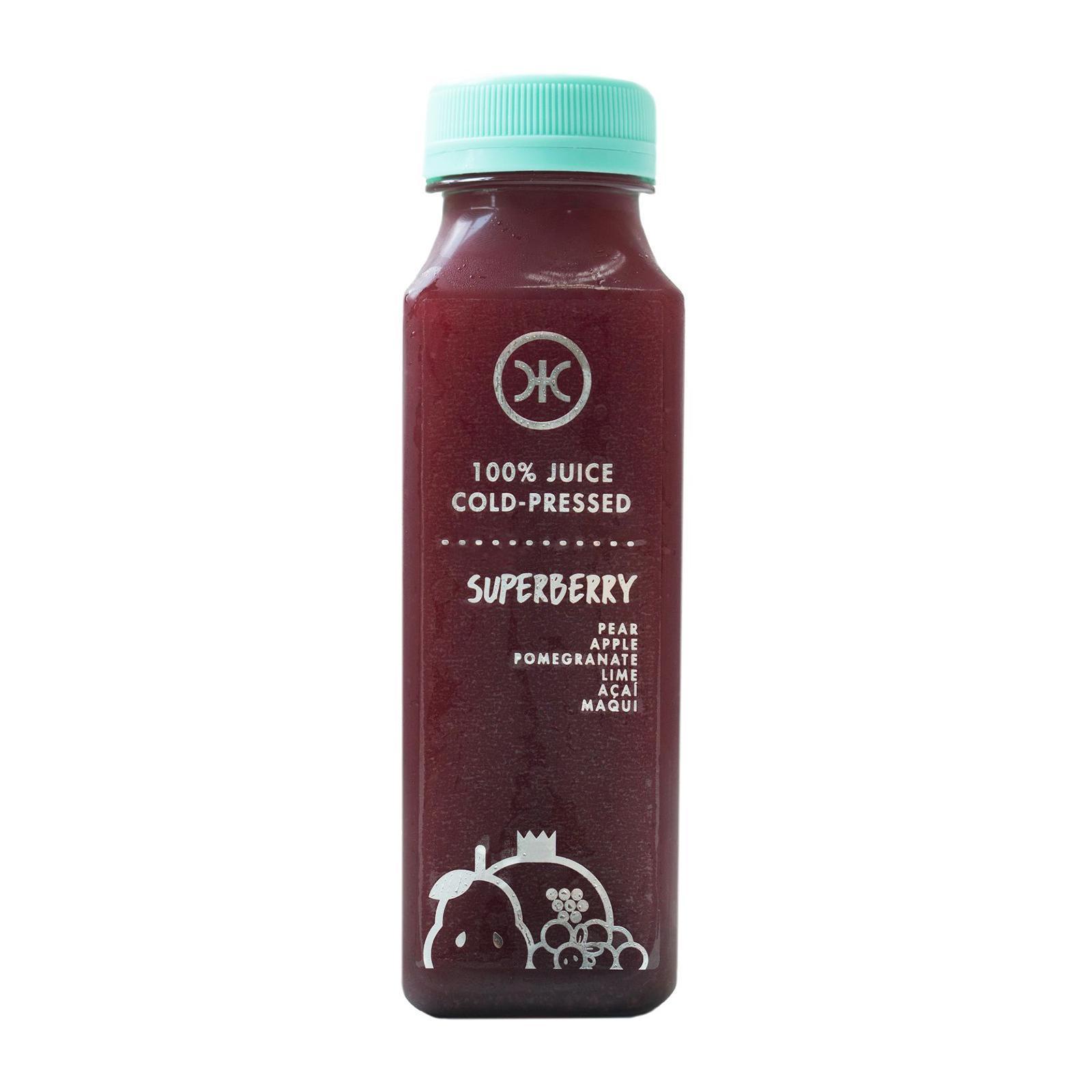 Hicjuice 100% Juice Cold Pressed Superberry By Redmart.