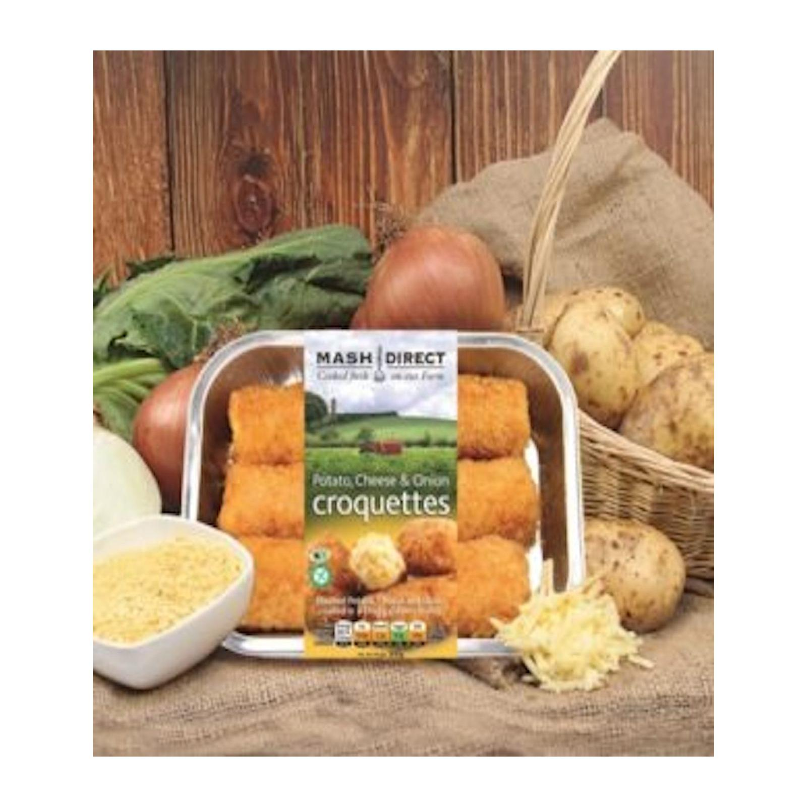 Sasha's Fine Foods Potato Cheese and Onion Croquette - Frozen