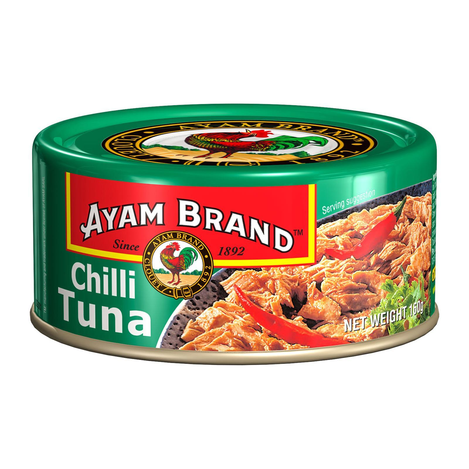 AYAM BRAND Tuna In Tomato Chilli 160g