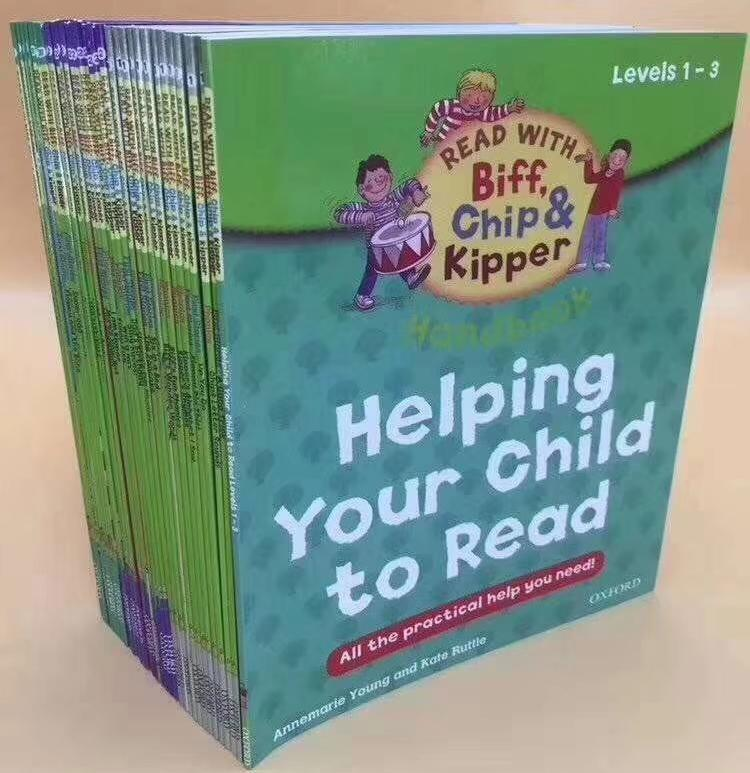 [SG Ready Stock] Level 1~3 Oxford reading tree Helping Your Child to Read (33 books) c1