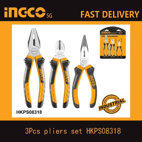 INGCO 3pcs pliers set HKHLPS2831 HKPS28318 HKPS08318